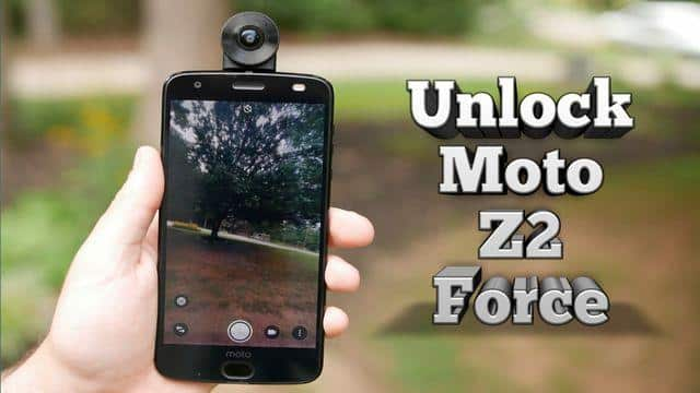 moto z2 force unlock